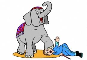 Malvorlagen Zirkus Tiere